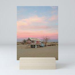 Desert Folk Art Truck Mini Art Print