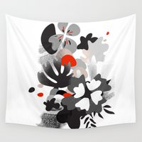 scandinavian Wall Tapestries featuring scandinavian nature by Lucja
