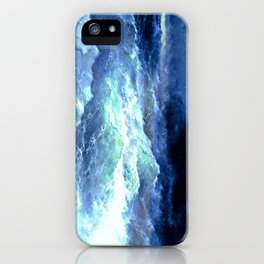 Among the waves (1898) iPhone Case