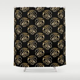Magic dragon Shower Curtain