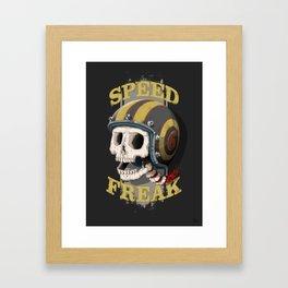 Speed Freak Framed Art Print