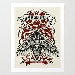 Buffalo Bill Lotion Poster Art Print