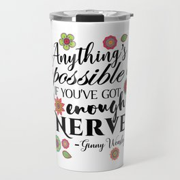 Anything's Possible - Ginny Weasley Travel Mug