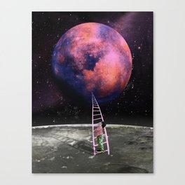 Pink Planet is my Favorite Canvas Print