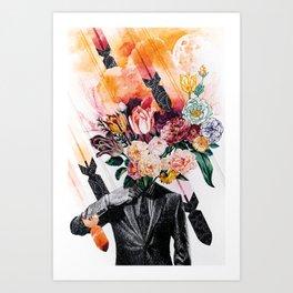 Nuclear Garden Art Print