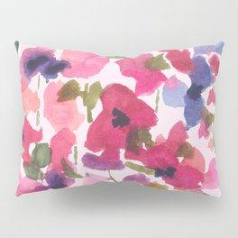 Monet's Rose Garden Pillow Sham