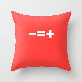 -=+ Throw Pillow