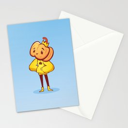 Pumpkin Guy Stationery Cards
