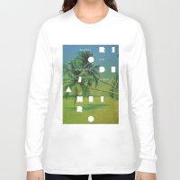rio de janeiro Long Sleeve T-shirts featuring Rio de Janeiro by Virbia