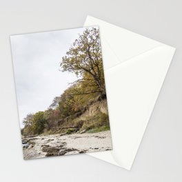 Along The Cliff On Baltic Sea Stationery Cards