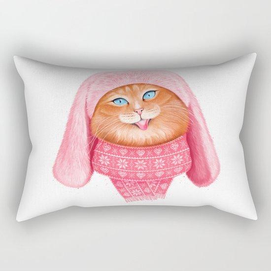 Cat meow Rectangular Pillow