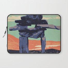 Torngat Mountains National Park Poster Laptop Sleeve