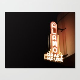 The Alamo Drafthouse Canvas Print