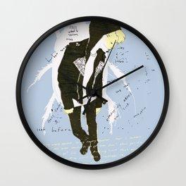 leatherette Wall Clock