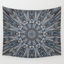 Floral explosion mandala for rejuvenation Wall Tapestry