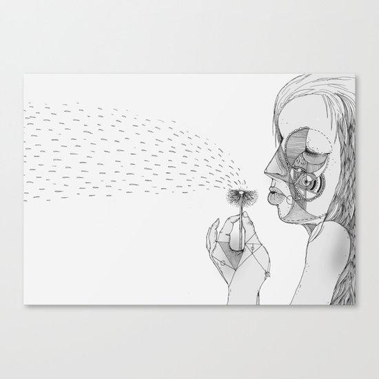 'Dandelion' Canvas Print