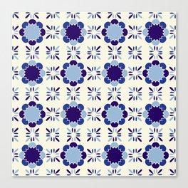 Portuense Tile Canvas Print