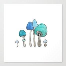 Shroom Village Canvas Print