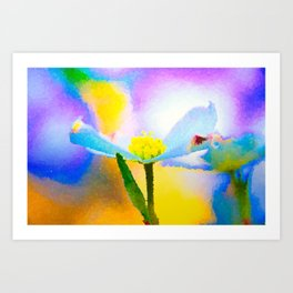 Dogwood 14 #easter #colorful #textured Art Print