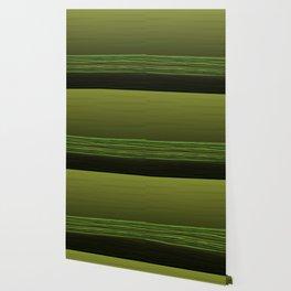 Horizon (olive green) Wallpaper