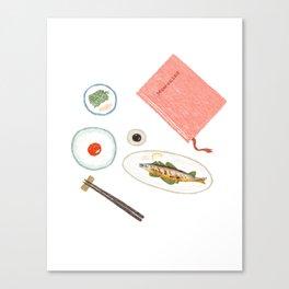 Table Setup Canvas Print