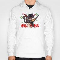 kill la kill Hoodies featuring Kill La Kill Ryuko & Senketsu Tribute by Barrett Biggers