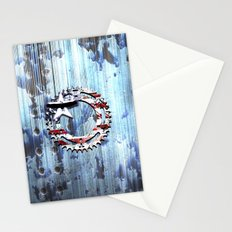 blue steel USA Stationery Cards