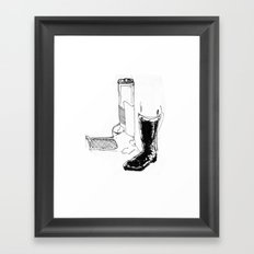Country man Framed Art Print