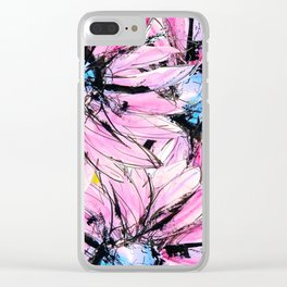 Daisy flower Clear iPhone Case