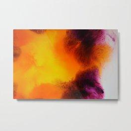 Floral Explosions Metal Print