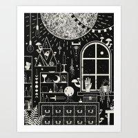 Moon Altar Art Print