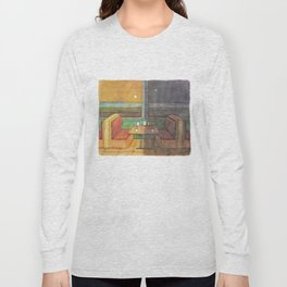 Diner Days, Diner Nights Long Sleeve T-shirt