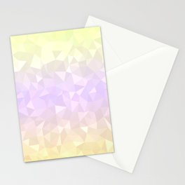 Pastel Ombre 3 Stationery Cards