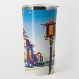Vintage poster - San Francisco Travel Mug