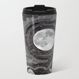 Moon Glow Metal Travel Mug