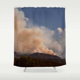 Cedar City Forest Fire - II Shower Curtain