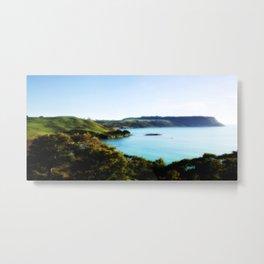 Tasmania's North Coast Metal Print