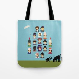 Sunday in the Park with George Tote Bag