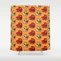 simba Shower Curtains featuring The Lion King - #5 Simba Art by tangofox
