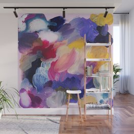 Robbie Abstract Painting Wall Mural