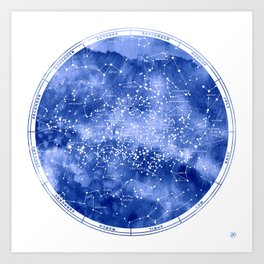 Southern Stars Art Print