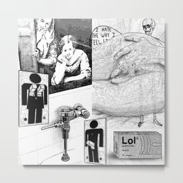 The constellation erotique 2865 Metal Print