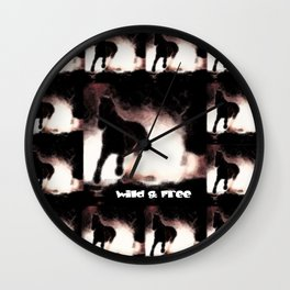 WILD&FREE Wall Clock