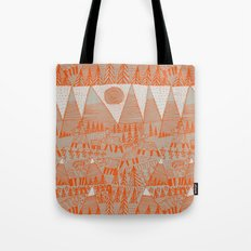 Evening on the High Pasture Tote Bag