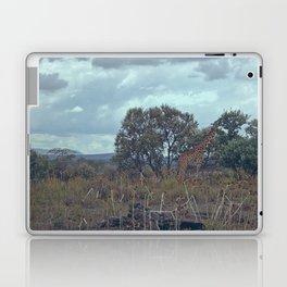 Blue Giraffe Laptop & iPad Skin