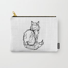 Kitty Gesture Carry-All Pouch