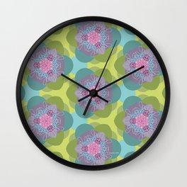Springflower-Kaleidoscope Wall Clock