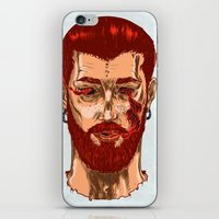 smoke iPhone & iPod Skins featuring Smoke by Nicolae Negura