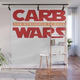 Carb Wars Avocado Keto Ketogen Keton Diet Fat Gift Wall Mural