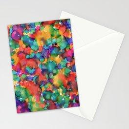 ''Colour Splash'   Original painting by Mimi Bondi Stationery Cards